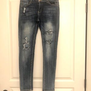 Size 29 Wax Dark Blue Jeans